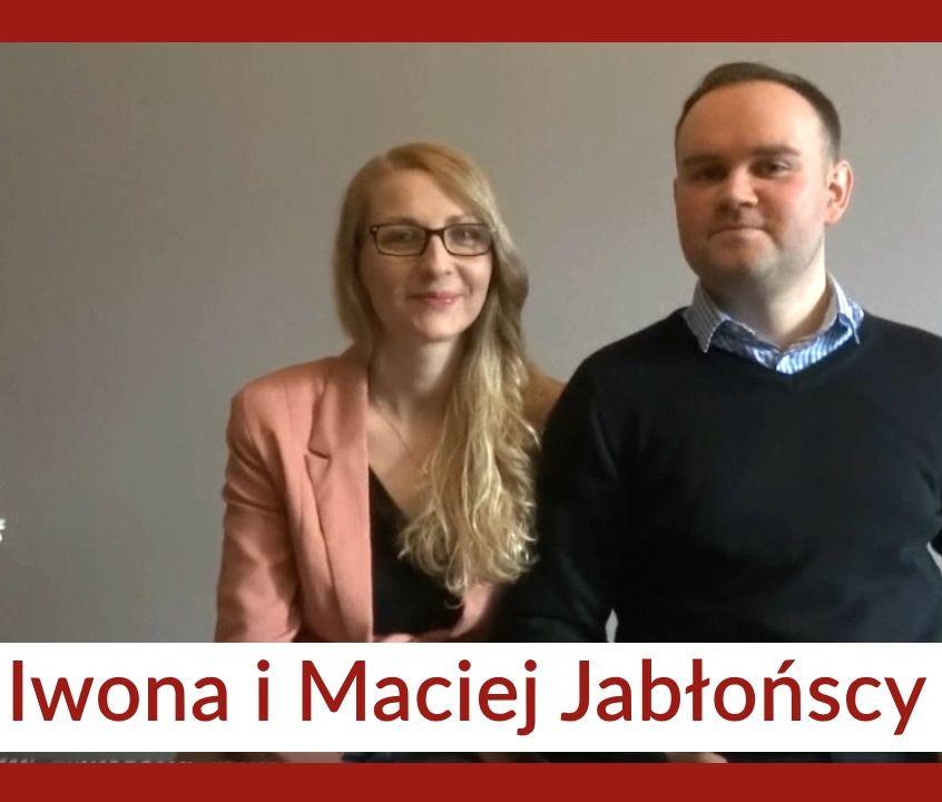 Zdjęcie Iwony i Maćka Jabłońskich.