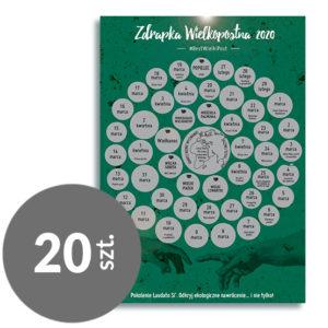 Zdrapka Wielkopostna 2020 | pakiet 20 szt.