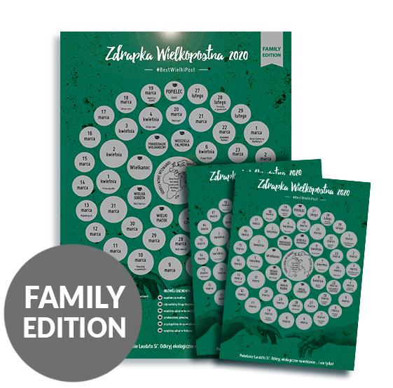 Podejmijcie rodzinne wyzwanie – przeżyjcie Wielki Post w duchu chrześcijańskiej ekologii i zatroszczcie się o nasz wspólny dom!